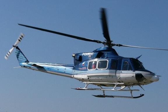 Vrtulník Policie ČR Bell 412