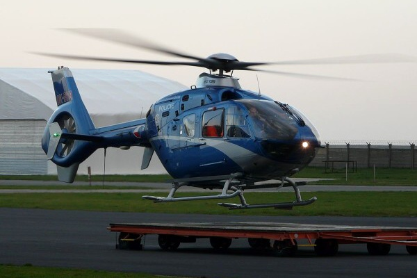 Vrtulník Policie ČR Eurocopter EC 135
