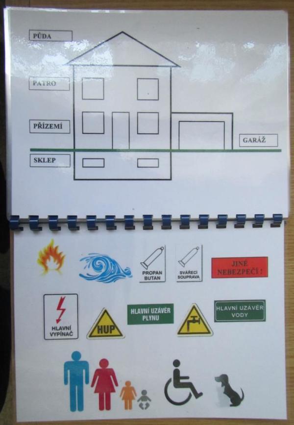Karta pro neslyšící od hasičů