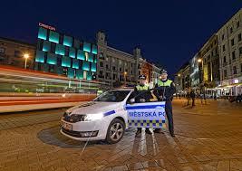 Hlídka Městské policie Brno